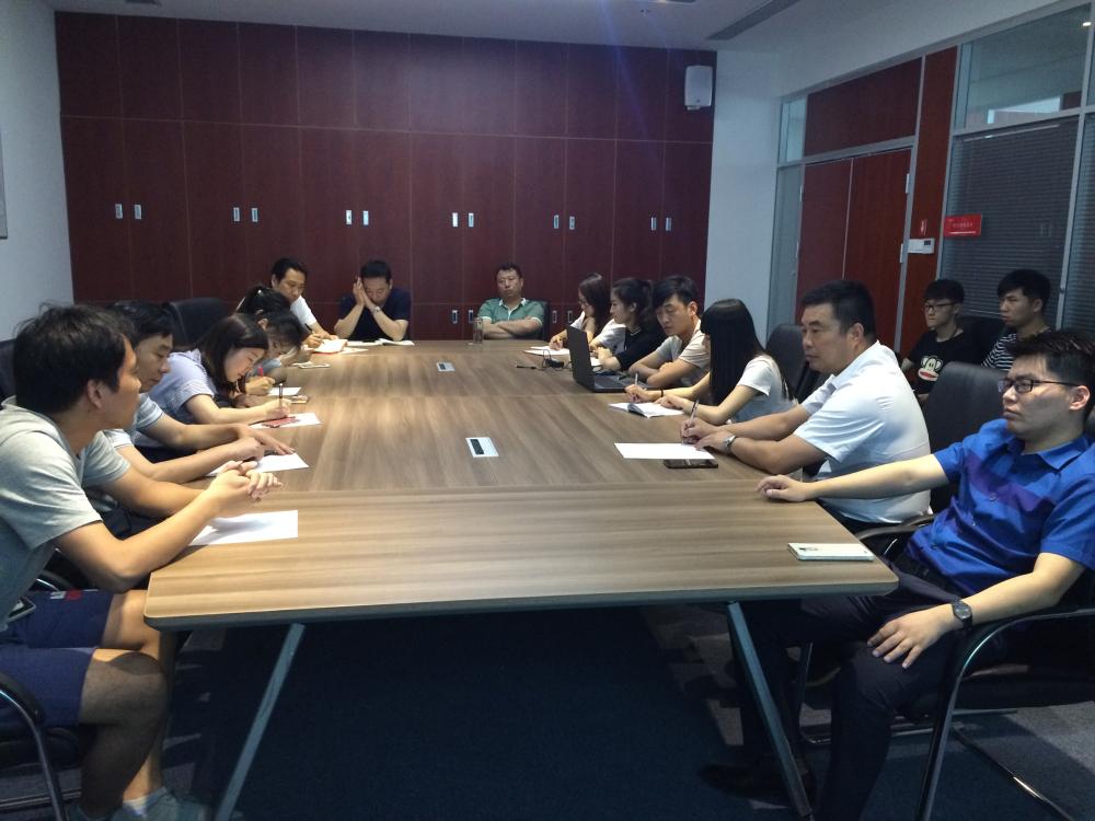河南省商务学院领导一行到中原国家广告产业园参观考察